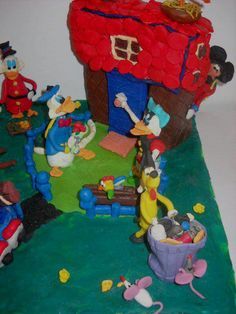 Walt Disney- Plasticine Art