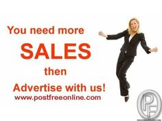 Post free ads online at best classifieds ad posting portal. Get the best deal for your products and services by posting free classified ads online at Post Free Online. Must Visit PostFreeOnline Site and portal. Check Images for *** site address. Best Online Classified *** site-Post free ads. www.postfreeonline.com