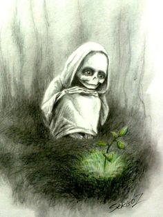 Жизнь смерти: трогательная история в зарисовках Сергея Загаровского