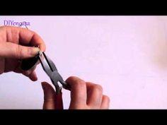 ▶ DIY Reciclaje. Pendientes con capsulas de Nespresso. How to make earring with Nespresso Capsules. - YouTube