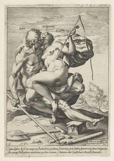 Arbeid en Vlijt (Labor / Diligentia), Hendrick Goltzius, 1582