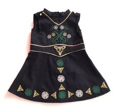 AMERICAN GIRL irish st patricks day STEP DANCING dance celti DOLL DRESS COSTUME #AmericanGIrlPleasantCompany