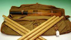Vintage Cricket Stumps Cricket Bat, Teas, Britain, Kit, Game, Vintage, Retro, Sports, Summer