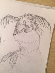 Beautifull draw of Toothless