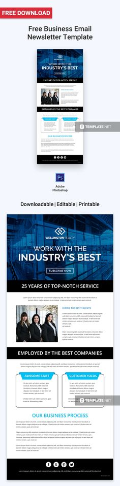 Download Free Business Email Newsletter Template, Professionally Designed Newsletters to Download, Customize & Email. Easily Editable in Html5, Adobe Photoshop (psd), Illustrator (.ai), Indesign, Microsoft Word (.doc), Publisher (.pub ) Outlook.  #FreeEmailNewsletterdesigns #FreeTemplates #Freedesigns #EmailNewsletter #freeEmailNewslettertemplates #adobe #googledocs #Illustrator #psd