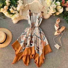 Girls Fashion Clothes, Teen Fashion Outfits, Girl Fashion, Fashion Dresses, Cute Casual Outfits, Pretty Outfits, Stylish Outfits, Stylish Dresses, Cute Dresses
