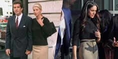 Meghan Markle Channeled Carolyn Bessette-Kennedy at Her First Royal Outing - HarpersBAZAAR.com