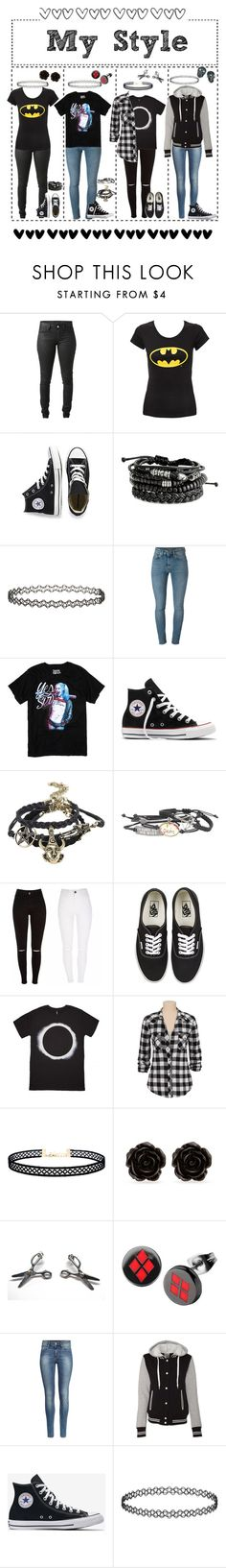 """""""My style"""" by emmcg915 ❤ liked on Polyvore featuring Acne Studios, Converse, Topshop, Yves Saint Laurent, Vans, Silver Jeans Co., LULUS, Erica Lyons, H&M and Tarina Tarantino"""