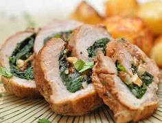 Veal Rolls stuffed with Spinach | Veal Recipes