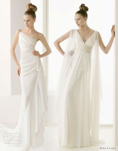 Pronovias Greek Grecian Wedding Bridal Gowns
