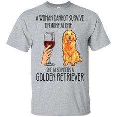 Golden Retriever Divertente Golden Retriever Amore cane Maglietta