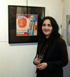 Kathleen Gilroy Artist. My work on show. Salon Artistes Douaisiens. kathleengilroy.net