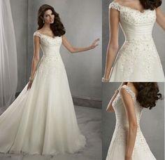 Neu-Hochzeitskleid-Brautjungfernkleid-Ballkleid-Paket-Groesse-34-36-38-40-42-44