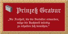 Prinzess Gravur™ font download