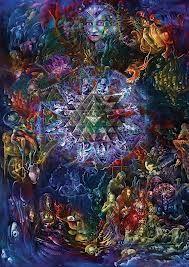 Risultati immagini per psychedelic tree man woman