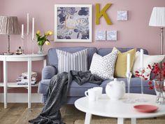 Popular Traditional | #IKEA #IKEAnl #inspiratie #woonkamer #landelijk #wonen #traditioneel #STOCKSUND #bank