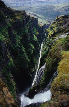 Glymur Falls, Iceland