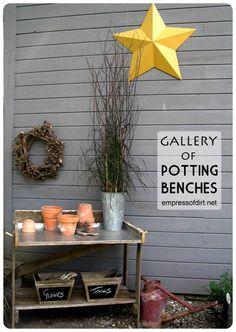 Gallery of Potting Benches   empressofdirt.net