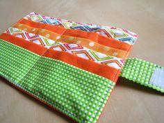 ...papelhilo-blog...: porte-carte printanier et tuto