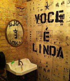 31 Ideas Vintage Cafe Interior Dreams For 2019 Pub Bar, Cafe Bar, Pastel Interior, Bar Interior, Restaurant Interior Design, Restaurant Bathroom, Modern Restaurant, Studio Bar, Butchers Market