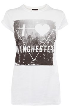 MANCHESTER GRAPHIC TEE
