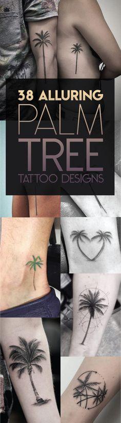 Palm Tree Tattoo Designs | TattooBlend