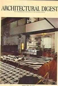 Architectural Digest - March 1971