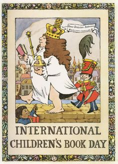 Thankful for Books!  Maurice Sendak's Little-Known and Lovely Posters Celebrating Books and the Joy of Reading | Brain Pickings