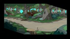 Adventure Time e Bravest Warrios Backgrounds | THECAB - The Concept Art Blog