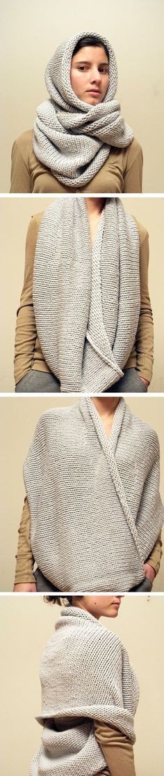 Learn About The Many Ways To Work That Shawl