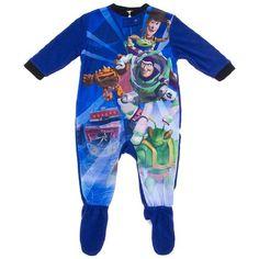 Toy Story Boys Baby Infant Woody Fleece Blanket Sleeper Size 18 Months