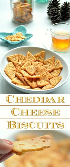 Cheddar Cheese Biscuits - a simple, quick and easy snack to accompany your evening tea or coffee. But beware, you really can't stop with just one or two.