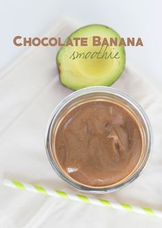 This chocolate banana smoothie is thick and creamy. It's packed full of chocolate and banana flavor which a hint of avocado. This is a new favorite!