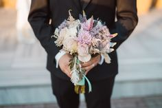 Wedding bouquet while waiting for the arrival of the bride, destination wedding photography, summer wedding in Athens, Greece Wedding Decorations, Table Decorations, Destination Wedding Photographer, Summer Wedding, Wedding Bouquets, Groom, Wedding Photography, Athens Greece, Bride