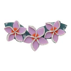 We just love our new Erstwilder Get Leid Brooch is a retro-inspired statement piece featuring a chain of tropical orchid blossoms!