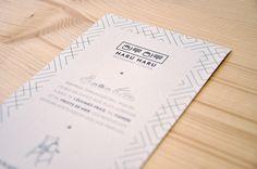 Haru Haru / Réalisation de l'identité visuelle pour Haru Haru, un restaurant coréen installé à Talence qui vous fera découvrir des saveurs innatendues et de nouveaux plaisirs culinaires  / www.nest-com.com