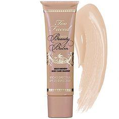 Amazon.com: Too Faced Tinted Beauty Balm Multi Benefit Skin Care Makeup, Vanilla Glow, 1.5 Fluid Ounce: Beauty