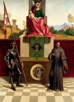 Pala di Castelfranco: tempera su tavola, Giorgione, 1503-1504 circa, Duomo di Castelfranco Veneto.