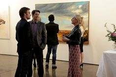 Asher Keddie/Nina Proudman in Offspring. Another great episode. Another great dress...  fashion, style, nina proudman, patrick, outfit