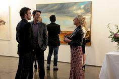 Asher Keddie/Nina Proudman in Offspring. Another great epidsode. Another great dress...