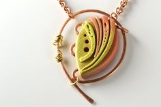 Reasons  Mixed Media Handmade Polymer and Copper by thatBluCat, $51.00