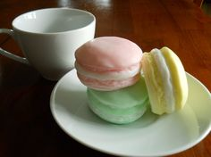 French Sweet Macaron Soap by Sweetturquoise on Etsy, $6.00