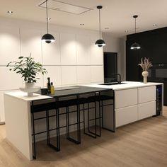 Nordic Home, Kitchen Island, Fresh, Creative, Table, Furniture, Home Decor, Houses, Instagram
