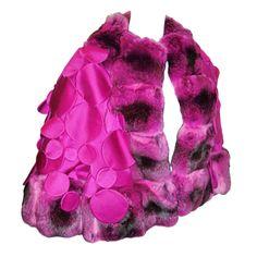 Just Sold!!!1stdibs | Catwalk Haute Couture Chado Ralph Rucci Chinchilla Cape