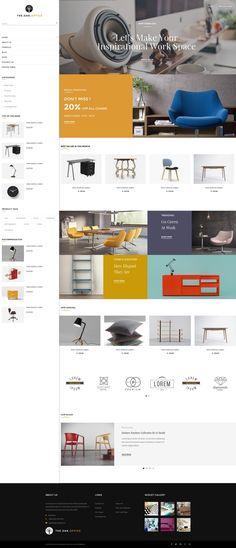 Beautiful Ecommerce Website Design | DezineMag