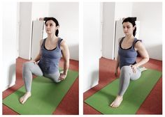 Lunge - stretch for split