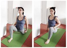 Lunge - stretch for split
