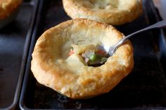 better chicken pot pies | smittenkitchen.com | Pot pies are a self-contained meal in warm, filling and even-better-than-you-remember-them package.