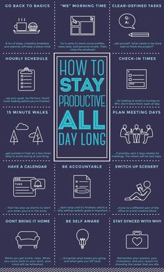 HowToStayProductive