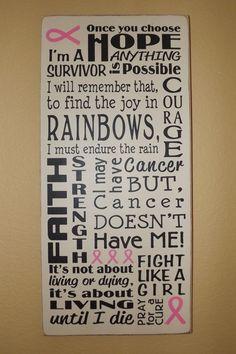 Breast Cancer Awareness Survivor primitive by PrimitiveHodgePodge, $40.00